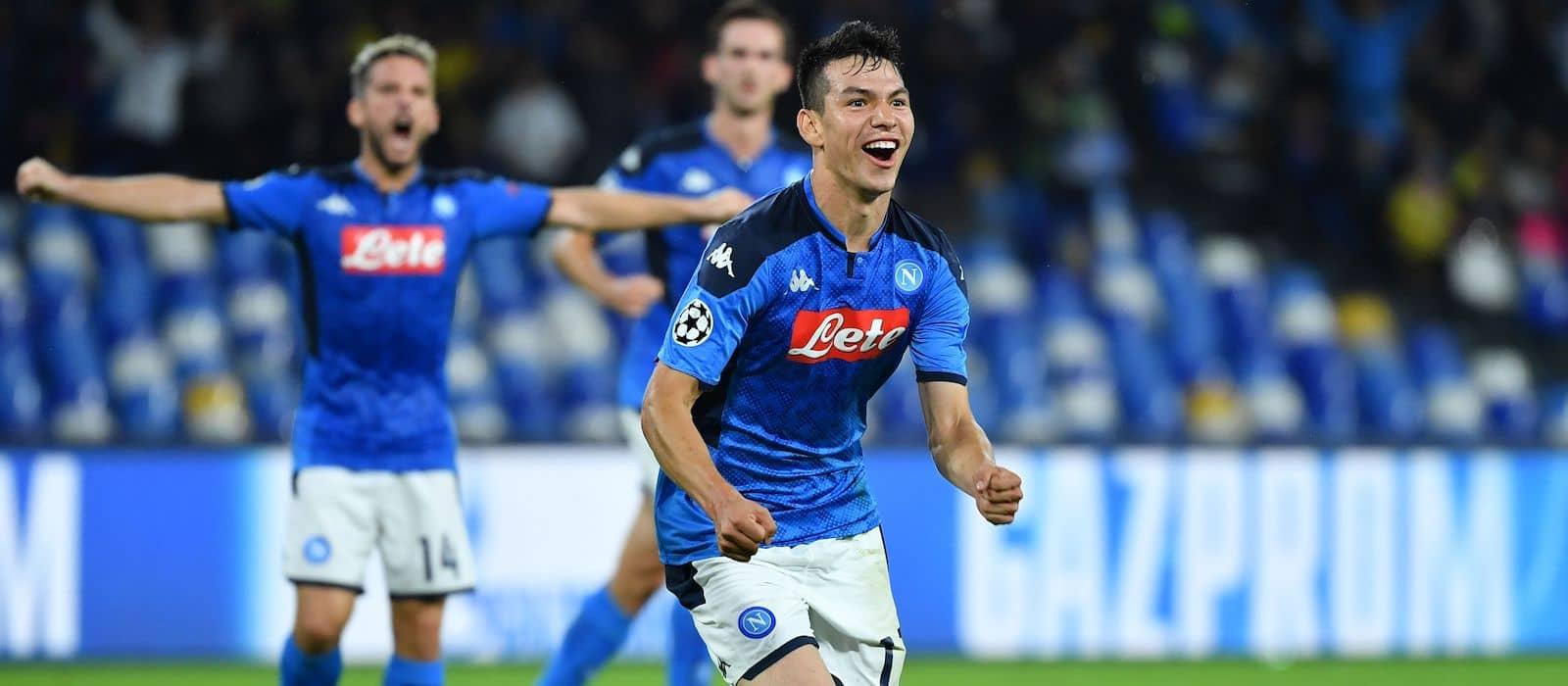 Manchester United cast wishful eye on Napoli's Hirving Lozano