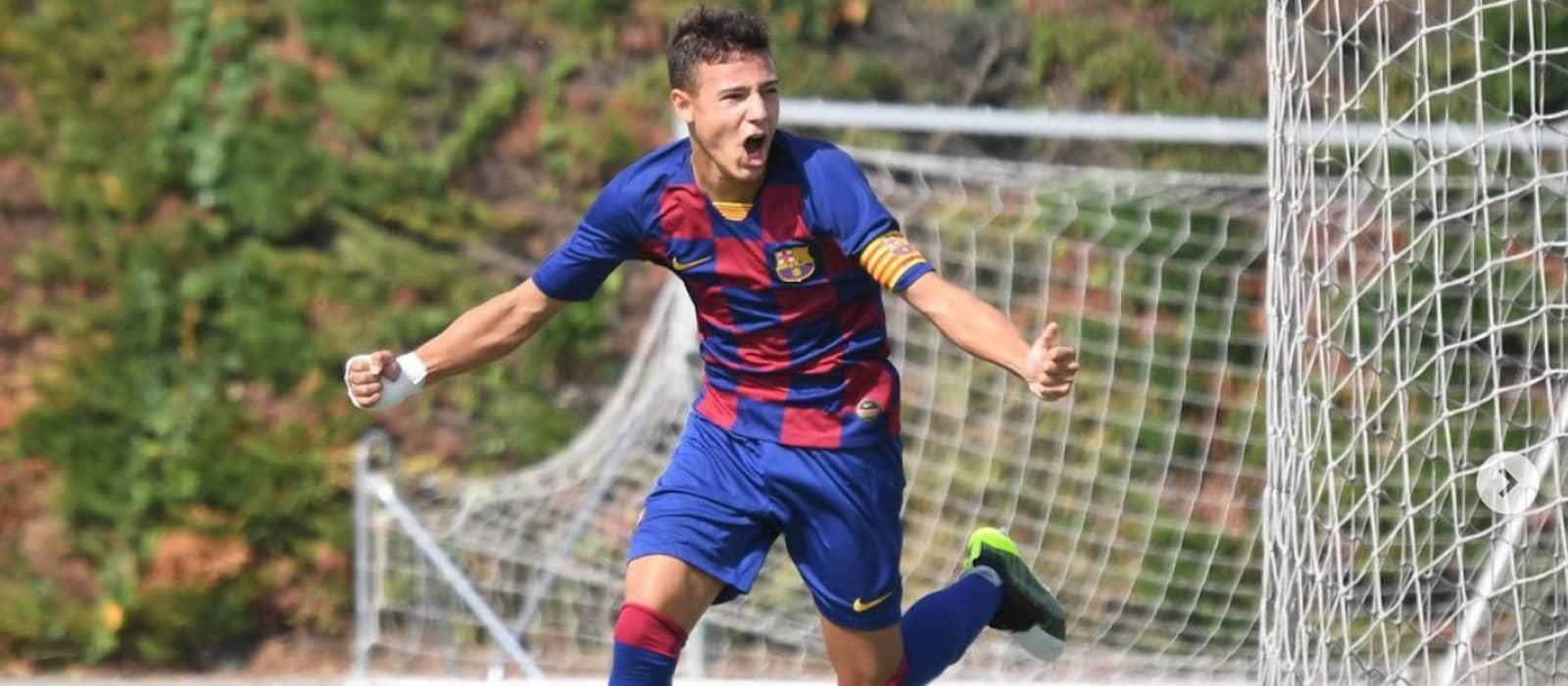 Charlie McNeill and Marc Jurado both score on their Man United U18 debut