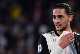 Manchester United battle Wolves for Juventus' Adrien Rabiot