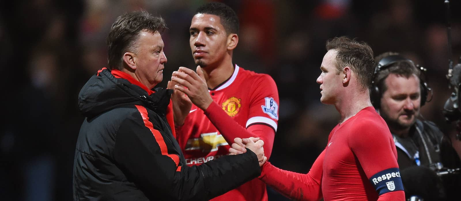 Wayne Rooney opens up on strange instruction from Louis van Gaal