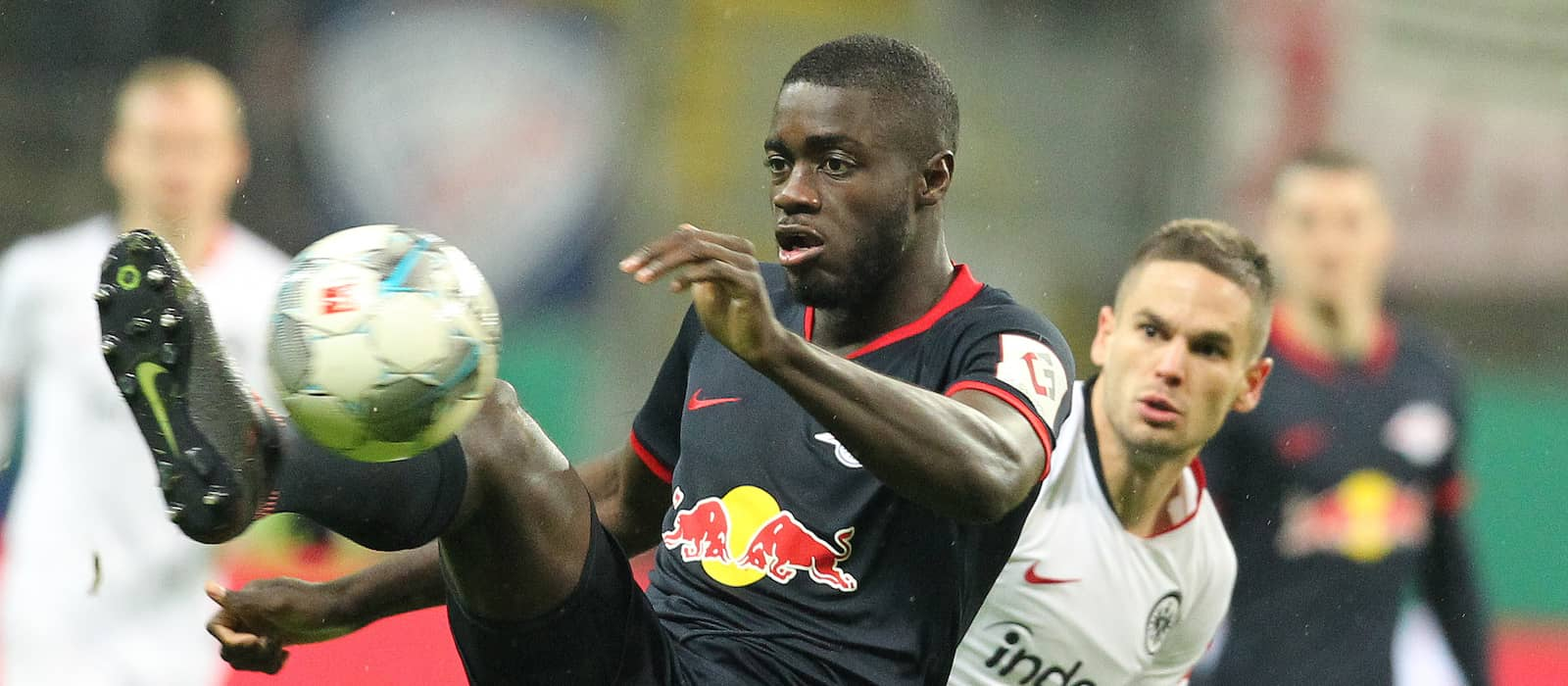 Dayot Upamecano admits speaking with clubs amid Manchester United interest