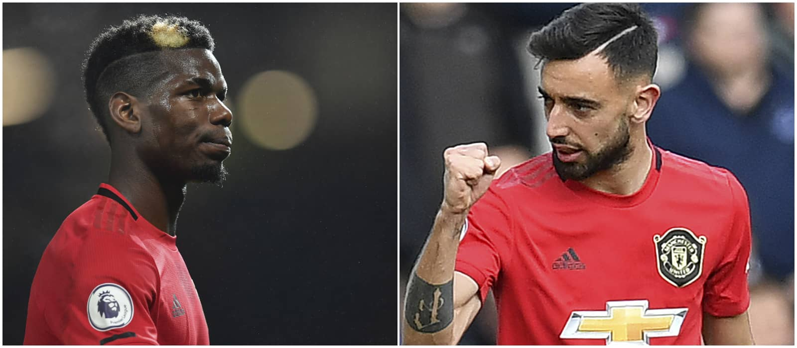 Manchester United's Bruno Fernandes and Paul Pogba put on a show