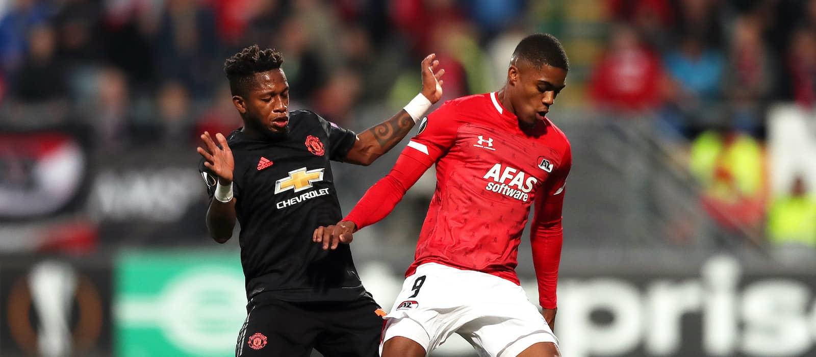 AZ Alkmaar's Myron Boadu may be ideal Manchester United signing