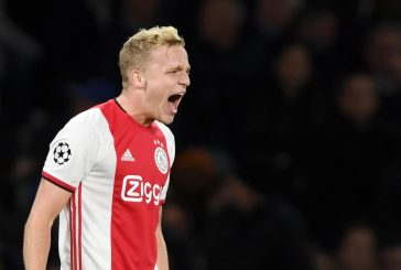 Ajax's Donny van de Beek not a high priority signing for Manchester United