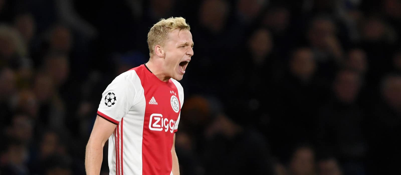 Video: Ajax fans wish Donny van de Beek well at Manchester United