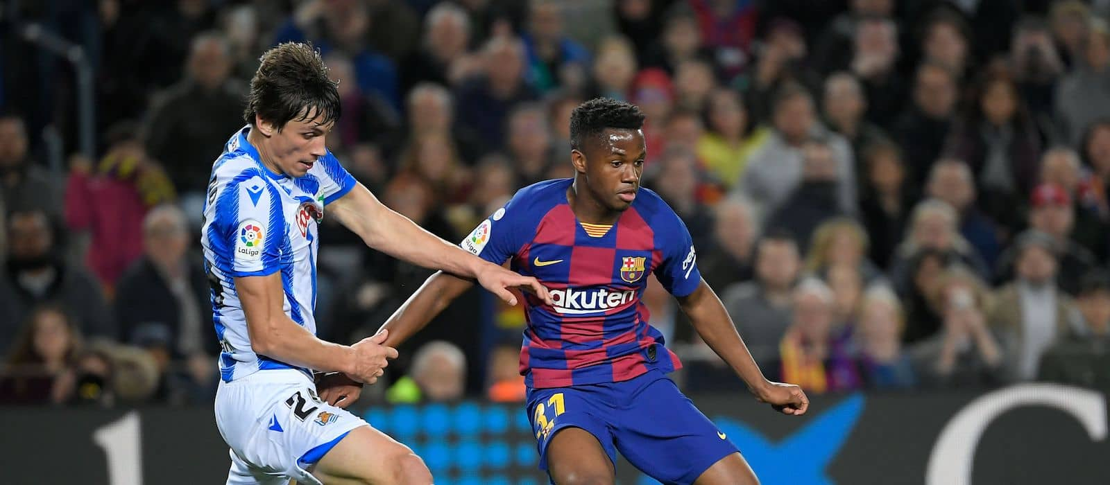 Manchester United rejected by Barcelona in bids to sign Ansu Fati