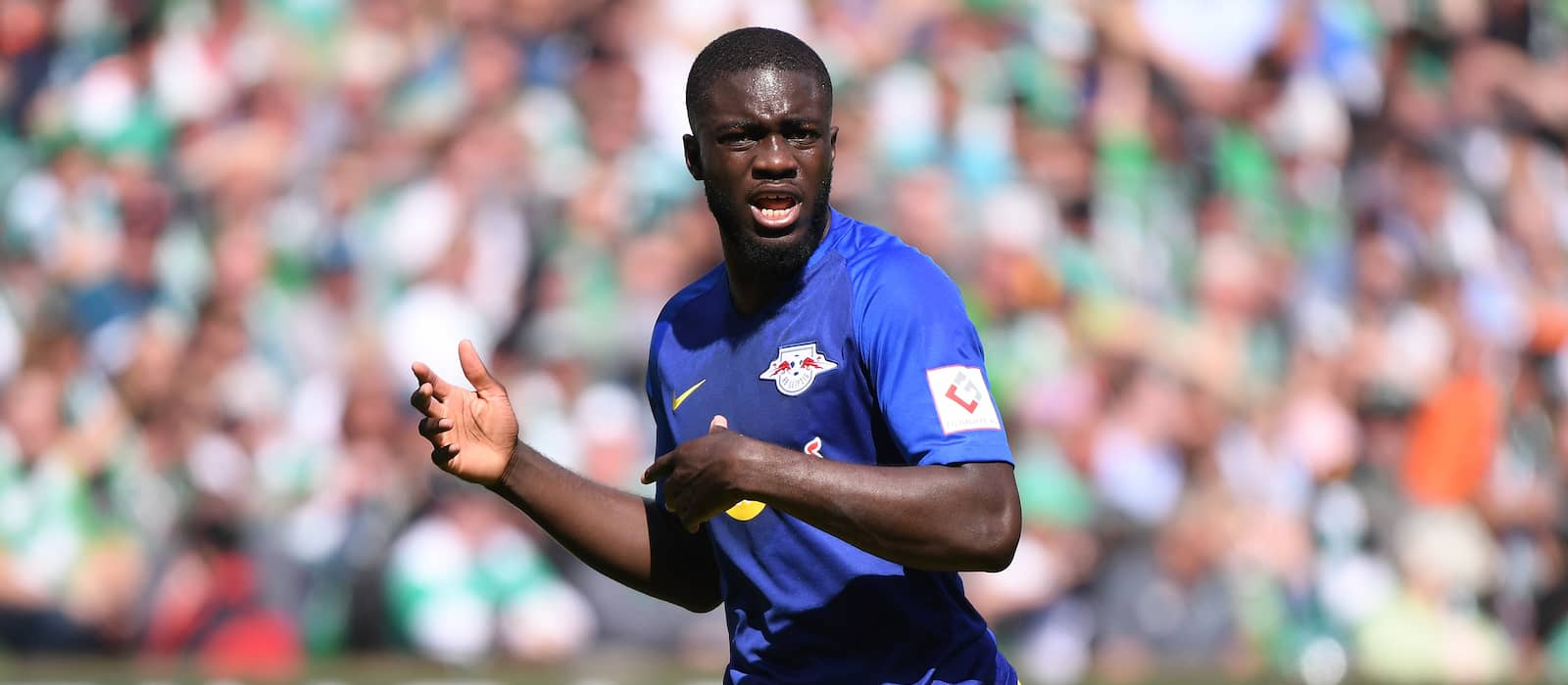 Manchester United target Dayot Upamecano signs new contract in Germany