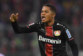 Manchester United keeping an eye on Bayer Leverkusen's Leon Bailey