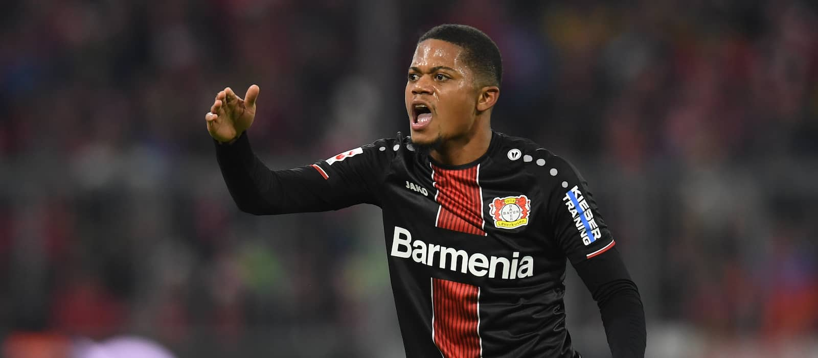 Manchester United keeping an eye on Bayer Leverkusen's Leon Bailey
