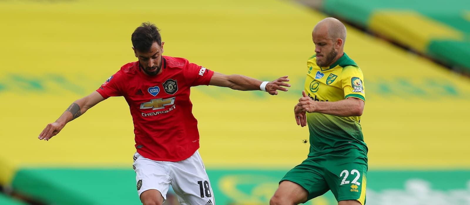 Bruno Fernandes still effective despite scrappy win vs Norwich City
