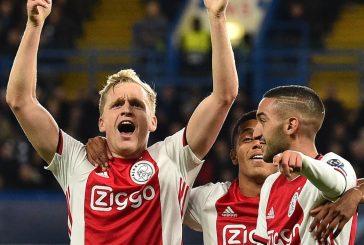 Ajax confirm Man United target Donny Van de Beek's transfer fee reduced