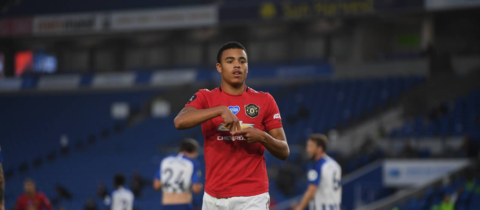 Mason Greenwood a better goalscorer than Cristiano Ronaldo