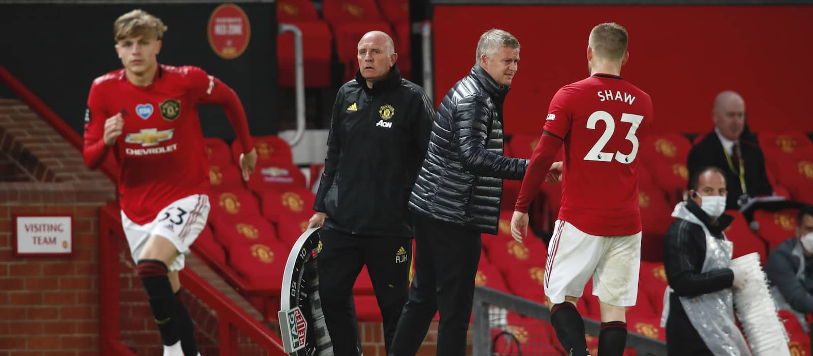 Ole Gunnar Solskjaer sweating over Luke Shaw and Brandon Williams injuries