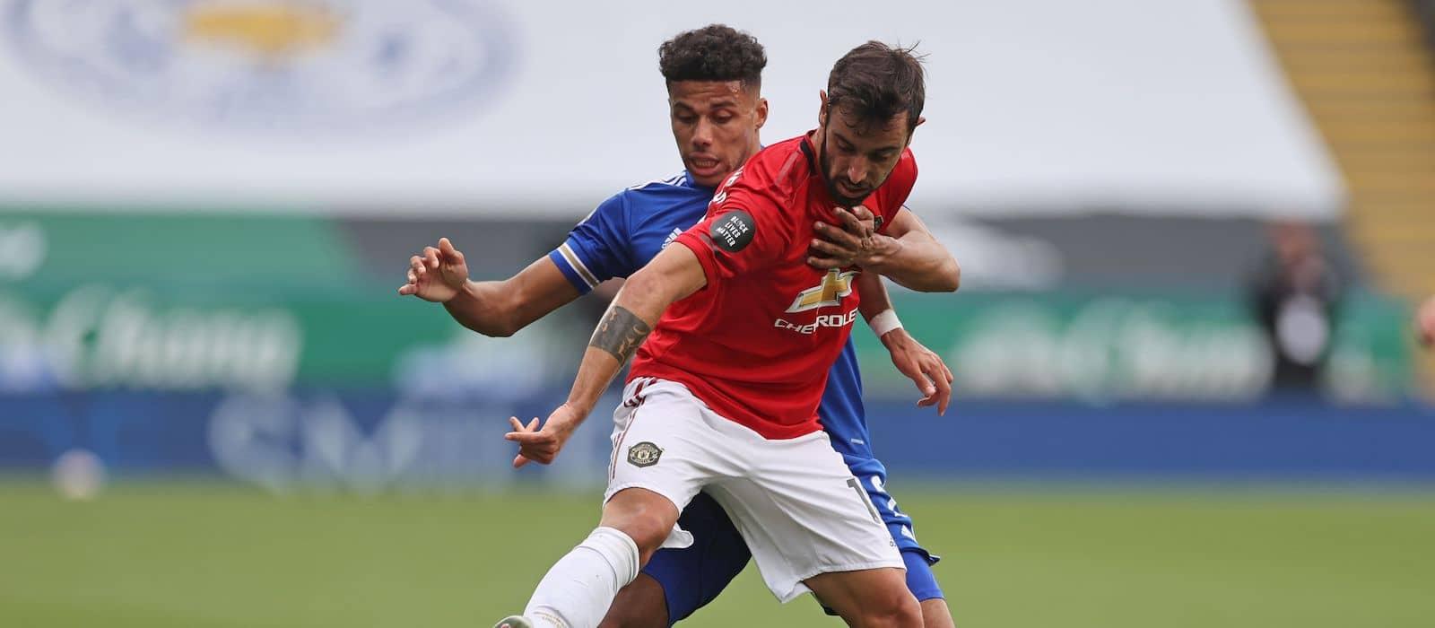 Bruno Fernandes backs Jesse Lingard after scoring vs Leicester City