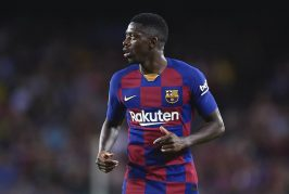 Ousmane Dembele close to signing Man United loan deal