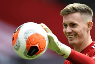 Dean Henderson is 'well up for' the challenge of ousting David de Gea