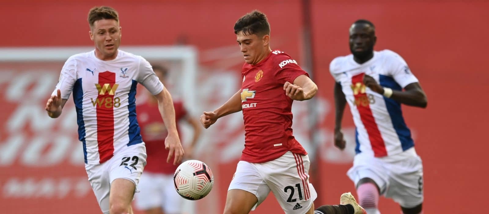 Fans happy for Daniel James to be loaned to Leeds United