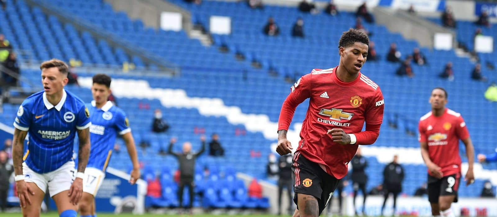Marcus Rashford makes promise to fans after Tottenham loss