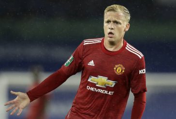 Donny van de Beek expected to start for Man United vs Southampton