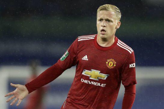 Donny van de Beek expected to start for Man United vs Southampton