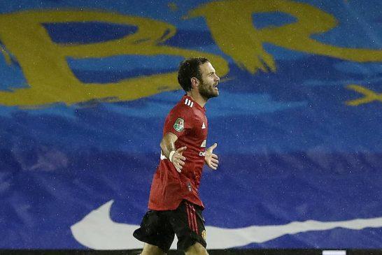 Juan Mata puts in man of the match performance vs Brighton & Hove Albion
