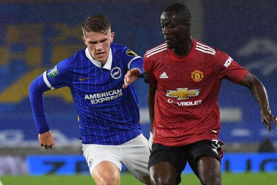 Manchester United fans react to Eric Bailly's performance vs Brighton & Hove Albion
