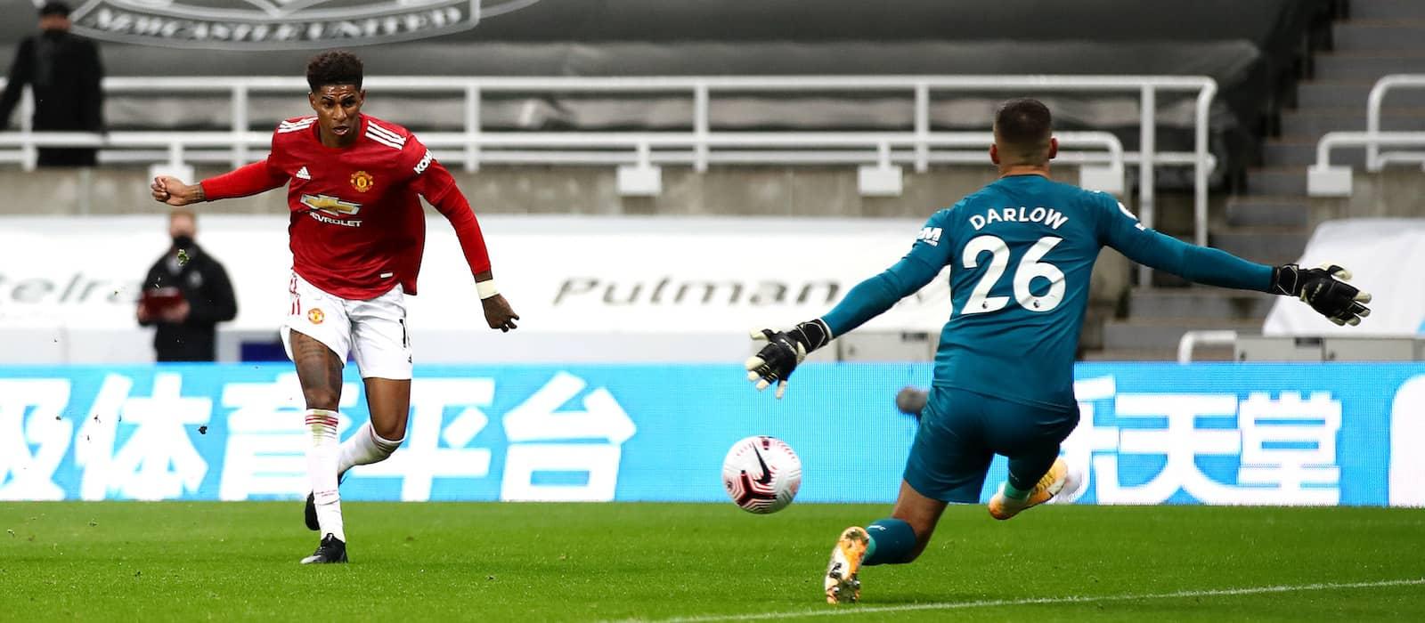 Marcus Rashford puts in tremendous performance vs. Newcastle