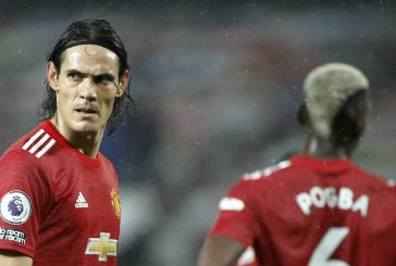 Edinson Cavani to start as Manchester United look to attack