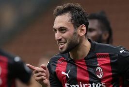 Manchester United have been in talks with AC Milan's Hakan Calhanoglu