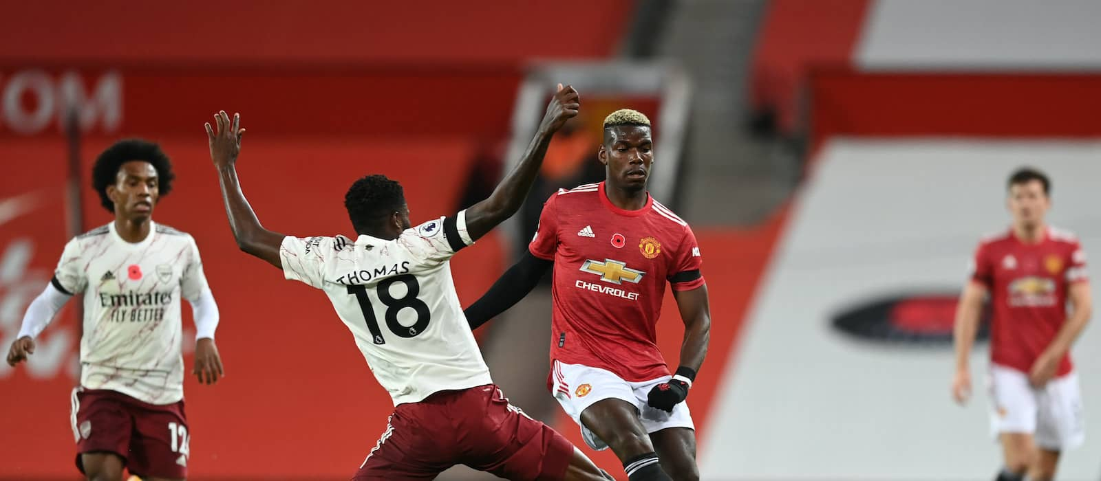 Paul Pogba reveals his thoughts on poor foul vs Arsenal