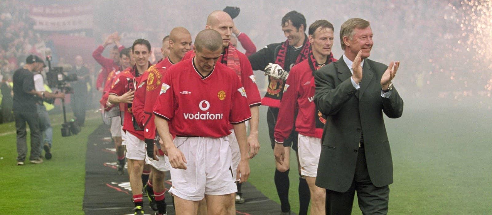 Roy Keane calls Sir Alex Ferguson a cheat in amazing video