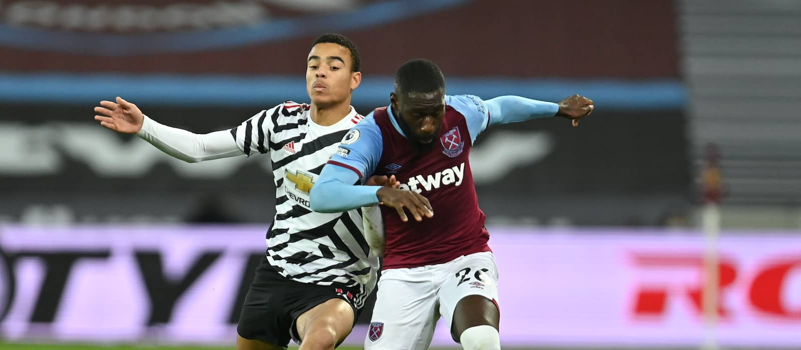 Mason Greenwood nets record-equalling goal for Manchester United vs West Ham