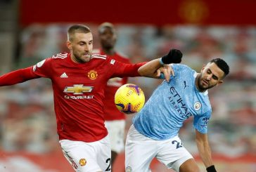 Luke Shaw dominates in drab draw vs Manchester City