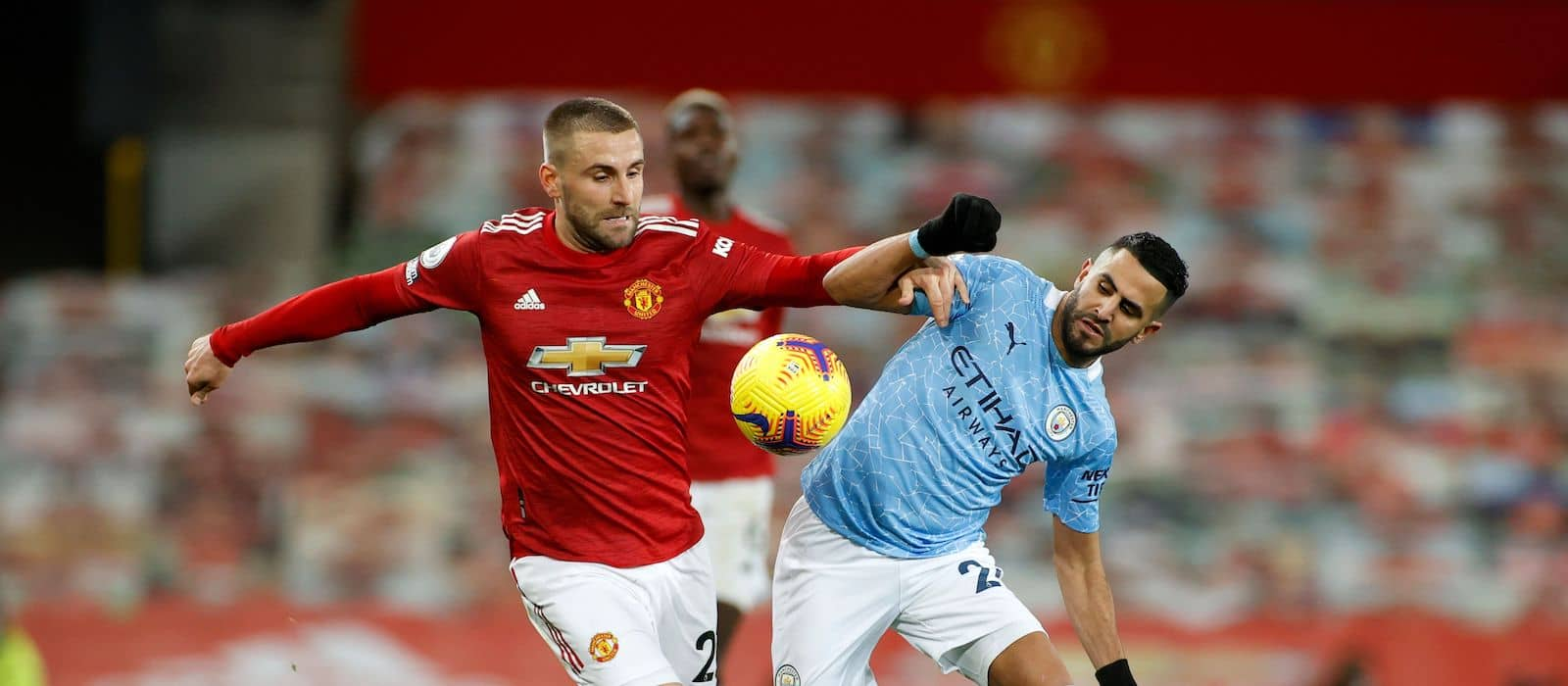 Luke Shaw dominates in drab draw vs Manchester City