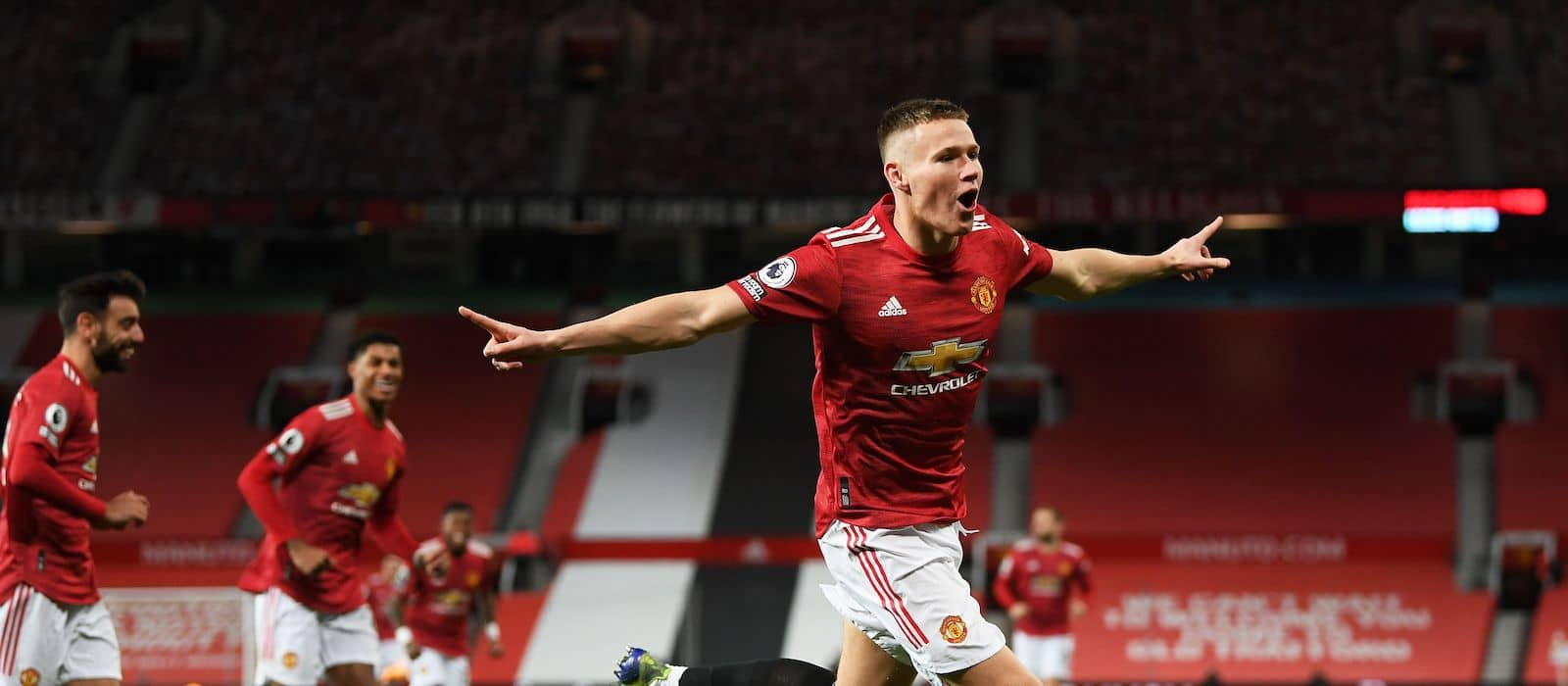 Scott McTominay's statistics off the charts after stunning display