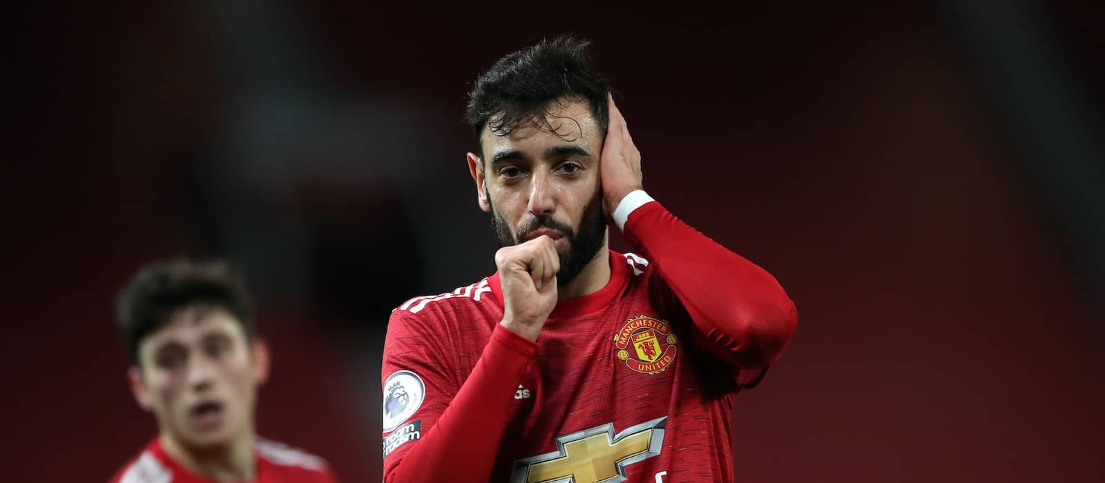 Bruno Fernandes doesn't always feel like celebrating at Man United