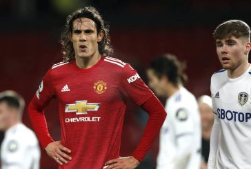 Edinson Cavani fit to play for Man United against Everton