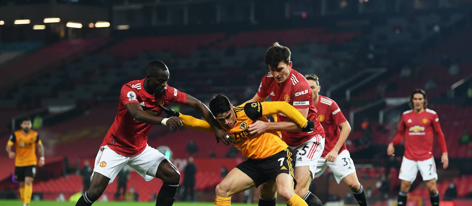 Manchester United fans react to Eric Bailly's performance vs Wolves