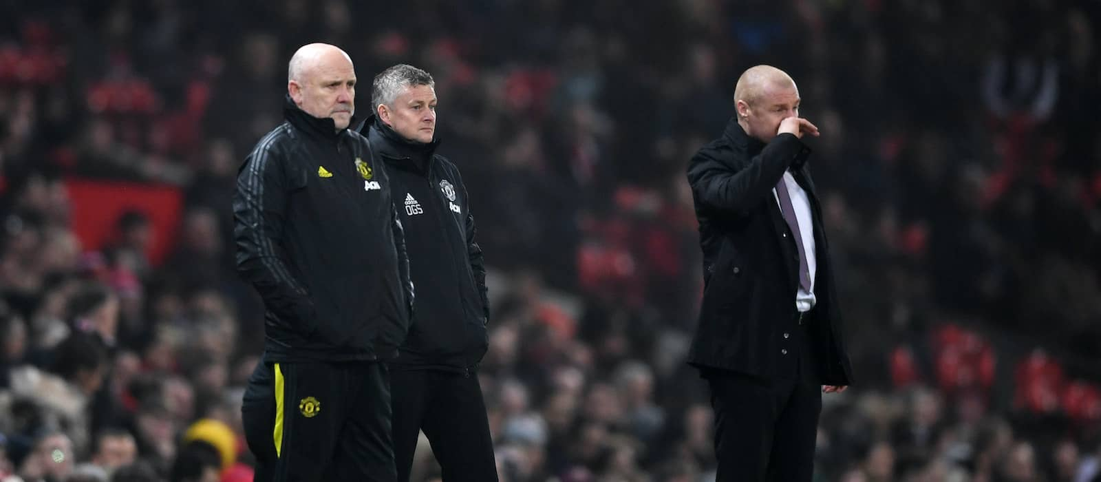 Burnley may be without eight players for Man United fixture