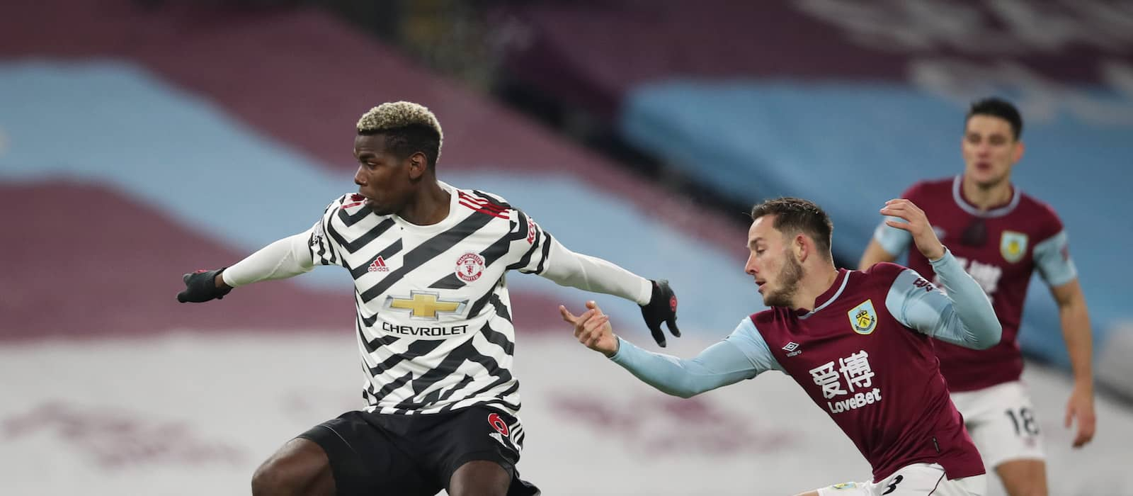 Manchester United fans react to Paul Pogba's performance vs Burnley