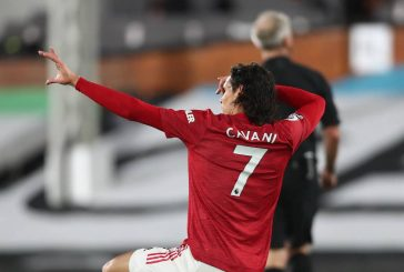 Ole Gunnar Solskjaer showers Edinson Cavani with praise