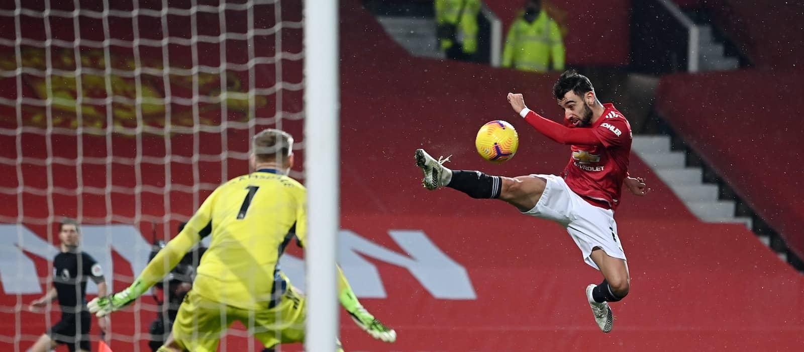 Statistics suggest Bruno Fernandes experiencing first Premier League dip
