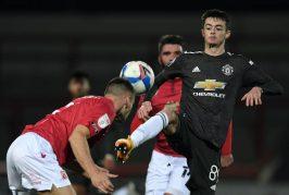 Joe Hugill scores again as Man United Under 23s beat Arsenal
