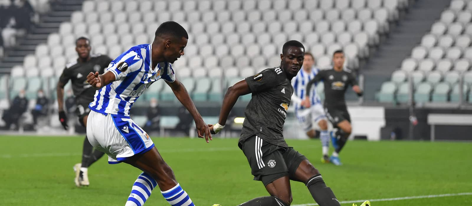 Eric Bailly crucial in stunning defensive display vs Real Sociedad