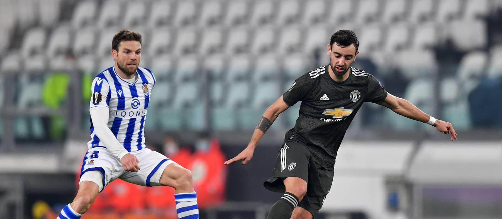 Bruno Fernandes puts on brilliant show vs Real Sociedad