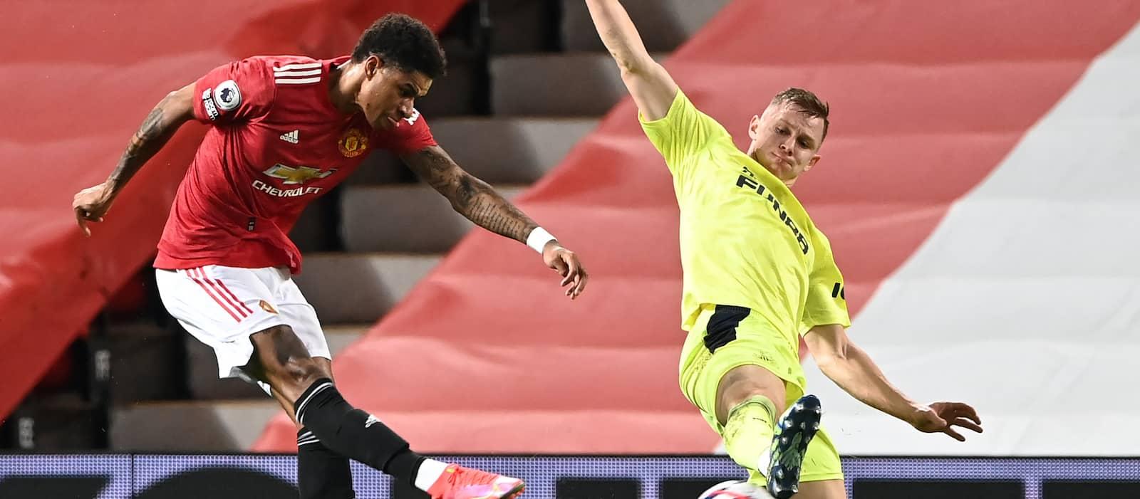 Marcus Rashford posts amazing statistics against Newcastle